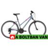 Kép 2/2 - Kellys CLEA 10 Grey-Pink 28 2021 Alu Cross-Trekking Kerékpár