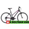 "Kép 2/2 - Kellys CLEA 30 Black-Pink 28"" 2021 Alu Cross-Trekking Kerékpár"