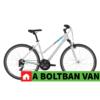 """Kép 2/2 - Kellys CLEA 30 White 28"""" 2021 Alu Cross-Trekking Kerékpár"""