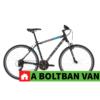 """Kép 2/2 - Kellys CLIFF 10 Black Blue 28"""" 2021 Alu Cross-Trekking Kerékpár"""