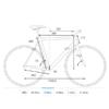 """Kép 2/2 - CUBE SL ROAD 28"""" (53) 2021 Országúti Fitness kerékpár"""