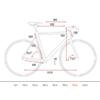 """Kép 5/5 - 28"""" Cube Litening C:62 (2017) Carbon Országúti kerékpár váz (60 cm)"""