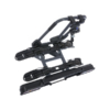 Kép 2/2 - Peruzzo Pure 2 Lock vonóhorogra szerelhető kerékpár szállító, 2 kerékpárhoz
