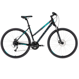 "Kellys CLEA 90 Black Aqua 28"" 2021 alu Cross-Trekking kerékpár"