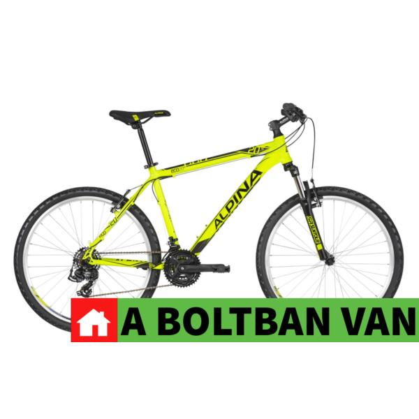 """Alpina Eco M20 Neon-Lime 26"""" 2020 MTB kerékpár"""