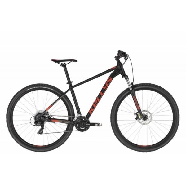 """Kellys Spider 30 Black (L) 29"""" 2021 alu MTB kerékpár"""