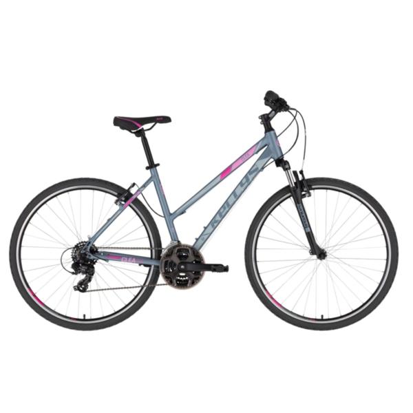 Kellys CLEA 10 Grey-Pink 28 2021 Alu Cross-Trekking Kerékpár