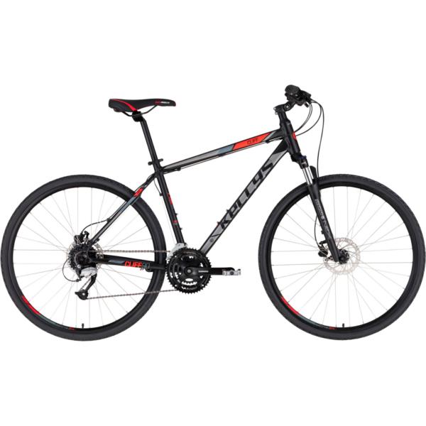 "Kellys CLIFF 90 Black-Red 28"" 2021 alu Cross-Trekking kerékpár"