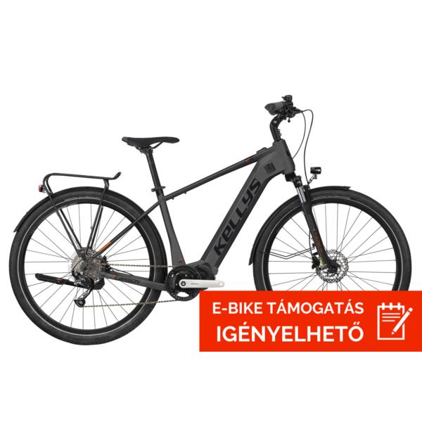 "Kellys E-Carson 30 Grey 720 Wh 28"" 2021 E-Bike Kerékpár"