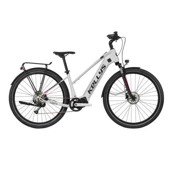 """Kellys E-Cristy 30 White 720 Wh 28"""" 2021 E-Bike Kerékpár"""