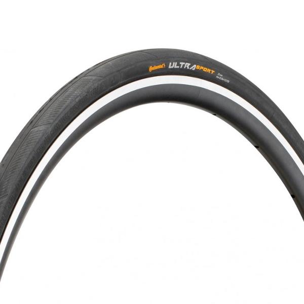 Continental Ultra Sport 3 Black/White Külső Gumi 25-622 hajtogatható
