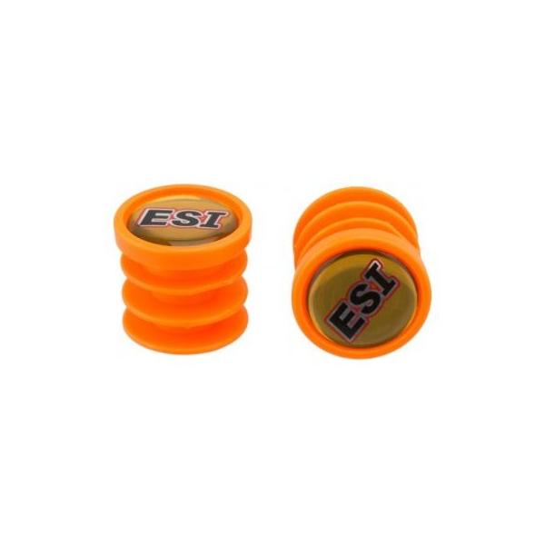 ESI Chunky színes kormányvég dugó, Narancssárga