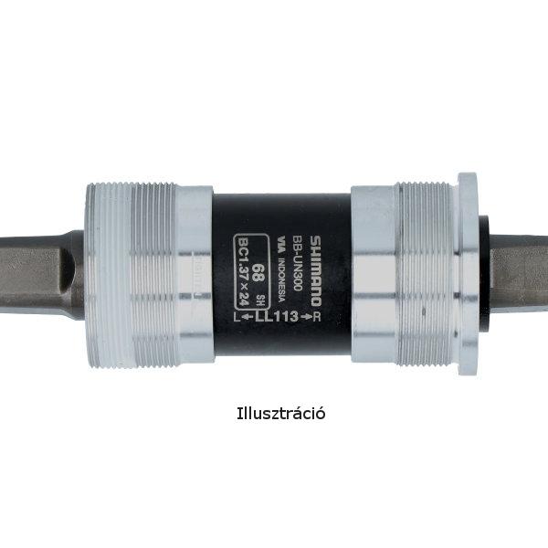 Shimano (BB-UN300) BC 137 négyszögtengelyes monoblokk-73/113 mm