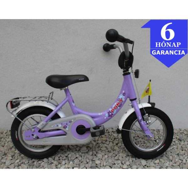 """Puky Purple 12"""" használt alu gyerek kerékpár"""