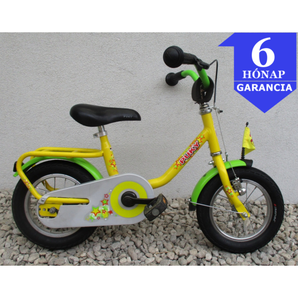 """Puky Yellow Star 12"""" használt gyerek kerékpár"""