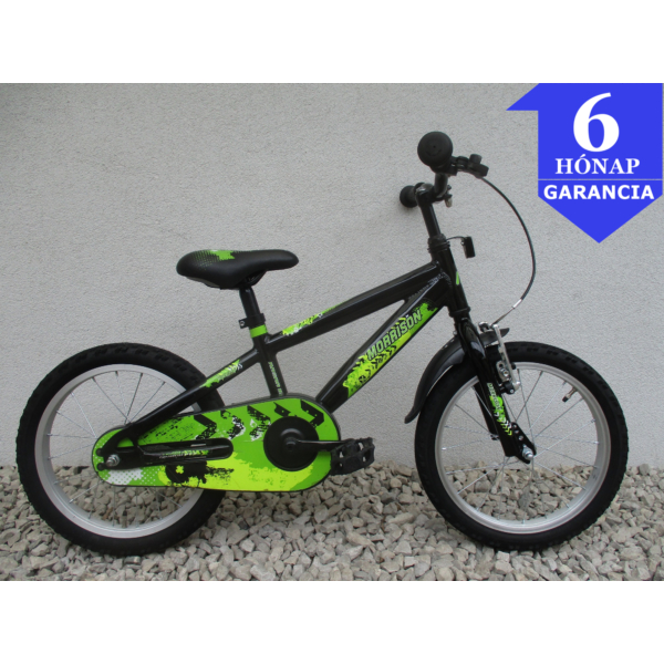 """Morrison Kaska 16"""" használt alu gyerek kerékpár"""