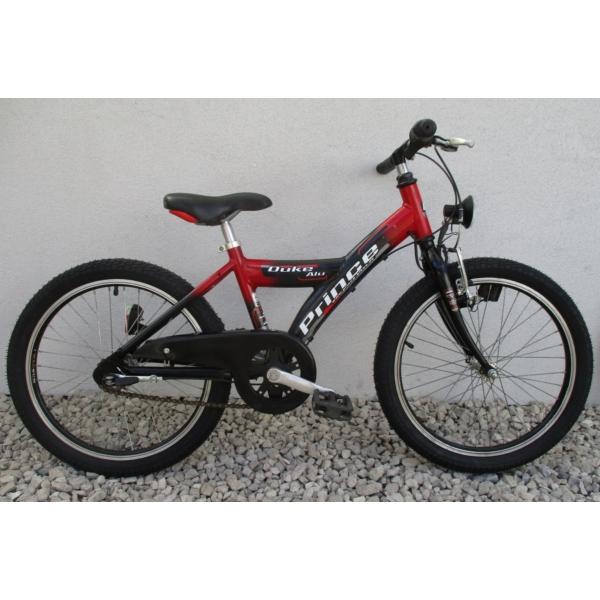 """Prince Duke 20"""" használt alu gyerek kerékpár"""