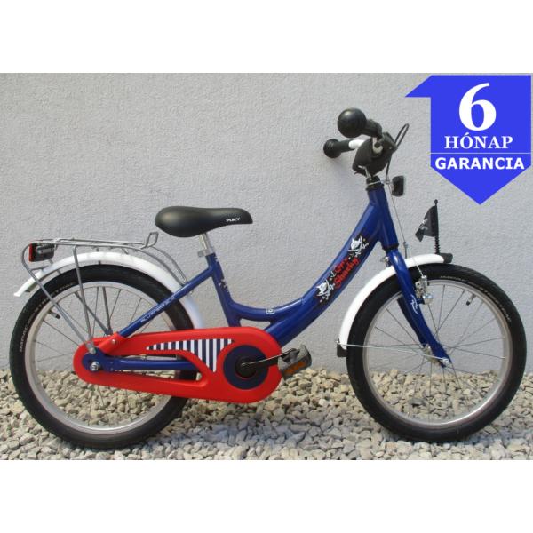 """Puky Sharky 18"""" használt alu gyerek kerékpár"""