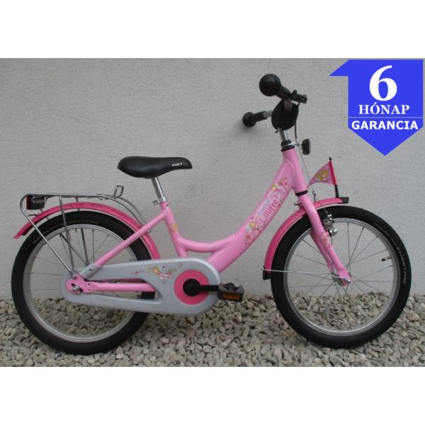 """Puky Prinzessin Lillifee 18"""" használt alu gyerek kerékpár"""