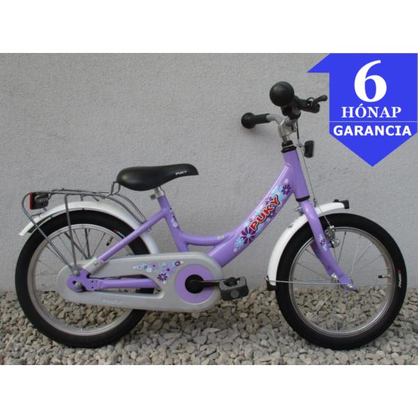 """Puky Purple 16"""" Használt Alu Gyerek Kerékpár"""