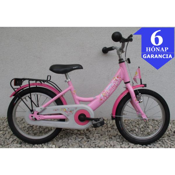 """Puky Prinzessin 16"""" használt alu gyerek kerékpár"""