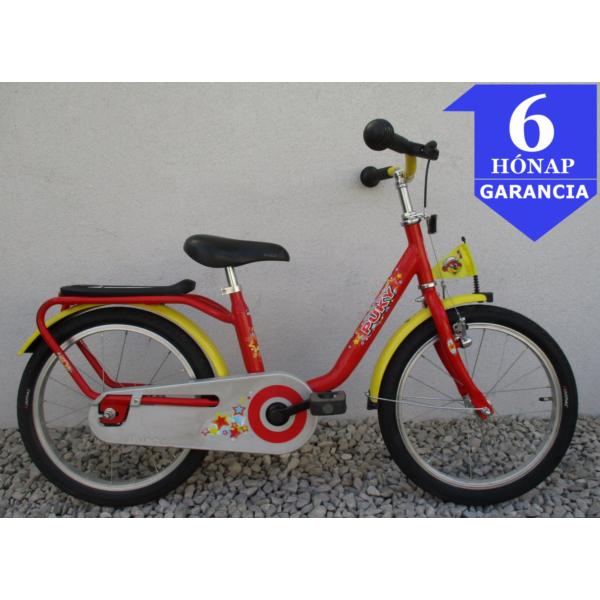 """Puky Red Sport 18"""" használt gyerek kerékpár"""