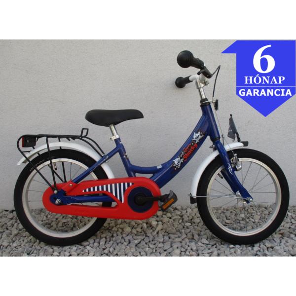 """Puky Sharky 16"""" használt alu gyerek kerékpár"""