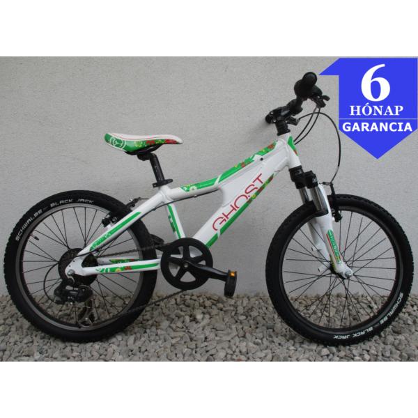 """Ghost Powerkid Girl 20"""" használt alu gyerek kerékpár"""