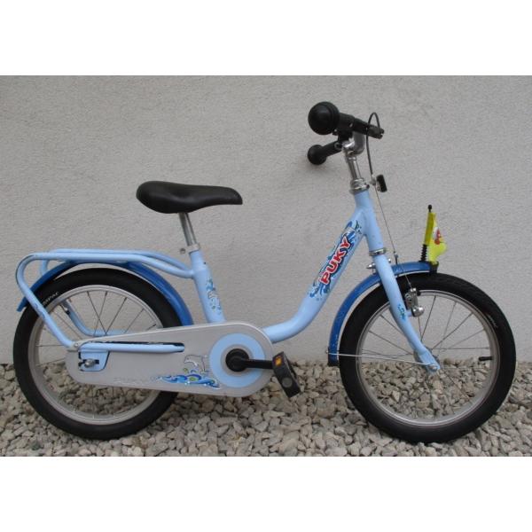 """Puky Blue 16"""" használt gyerek kerékpár"""