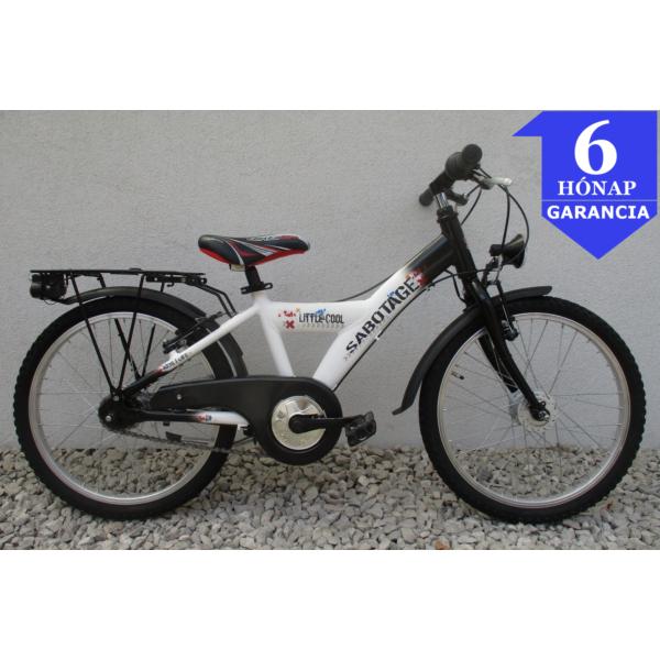 """Sabotage Little Cool 7 20"""" használt alu gyerek kerékpár"""