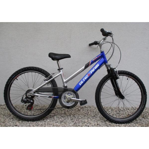 """Black Rain Sport 24"""" használt alu gyerek kerékpár"""