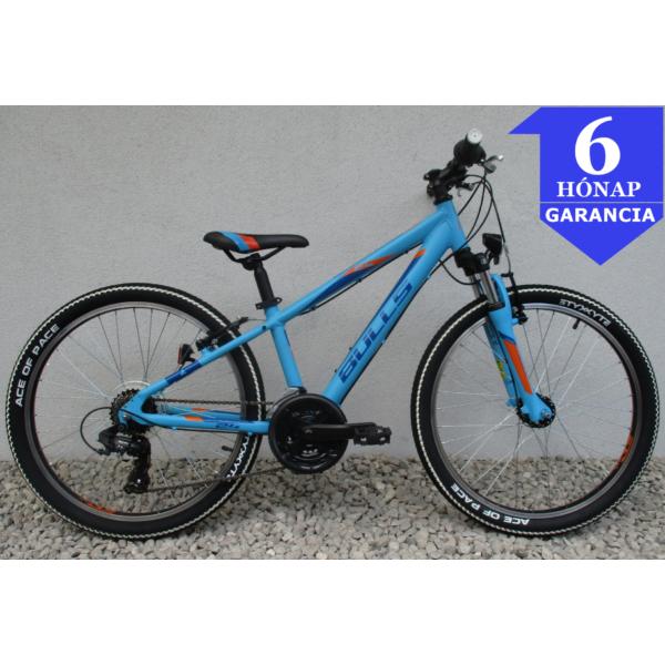 """Bulls Tokee Blue 24"""" használt alu gyerek kerékpár"""