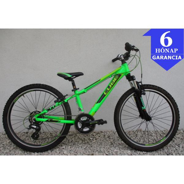 """Cube Race 24"""" használt alu gyerek kerékpár"""