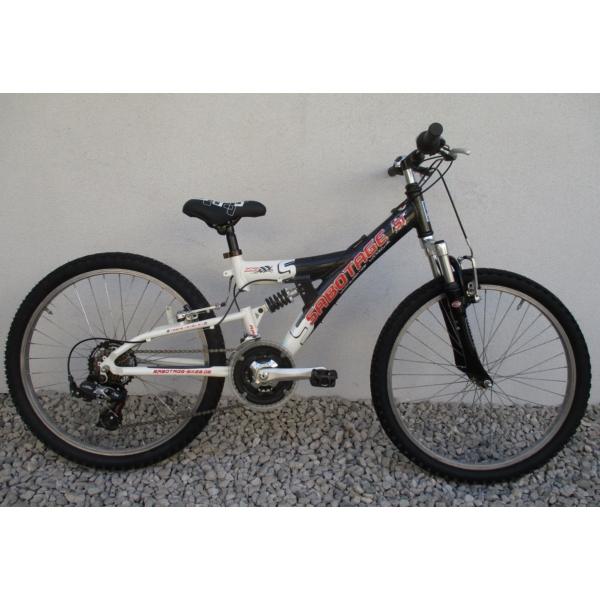 """Sabotage Race Fully 26"""" használt alu MTB kerékpár"""