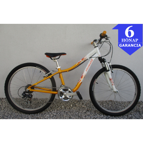 """Specialized Hotrock 24"""" használt alu gyerek kerékpár"""