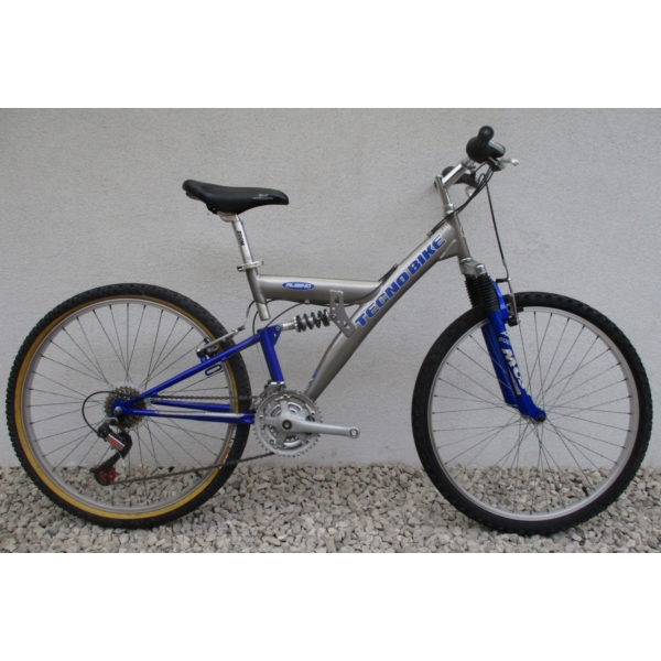 """Tecno Bike Rubino Fully 26"""" használt MTB kerékpár"""