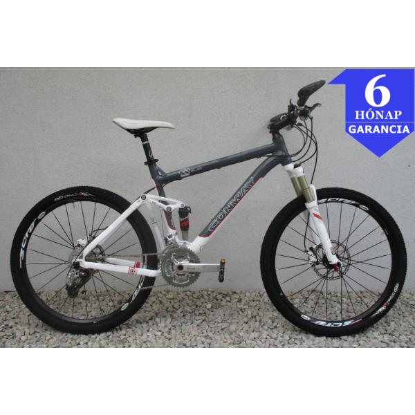 """Conway MF 801 Fully 26"""" használt alu MTB kerékpár"""