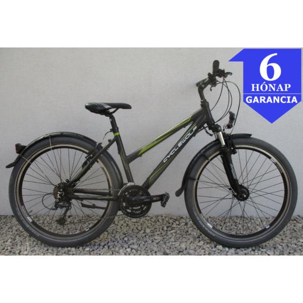 """Cyclewolf Tucano 26"""" használt alu MTB kerékpár"""