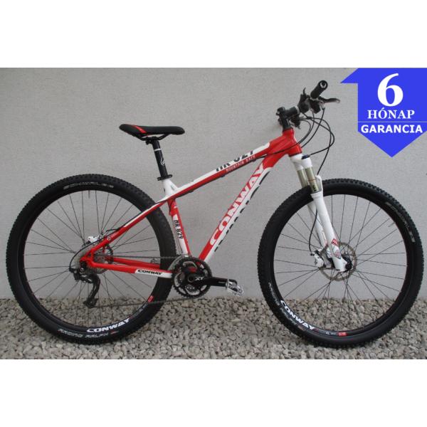 """Conway Mountain Race 829 XT 29"""" használt alu MTB kerékpár"""