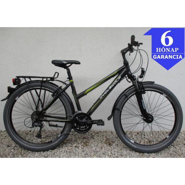 """Cyclewolf Tucano 26"""" használt alu ATB kerékpár"""