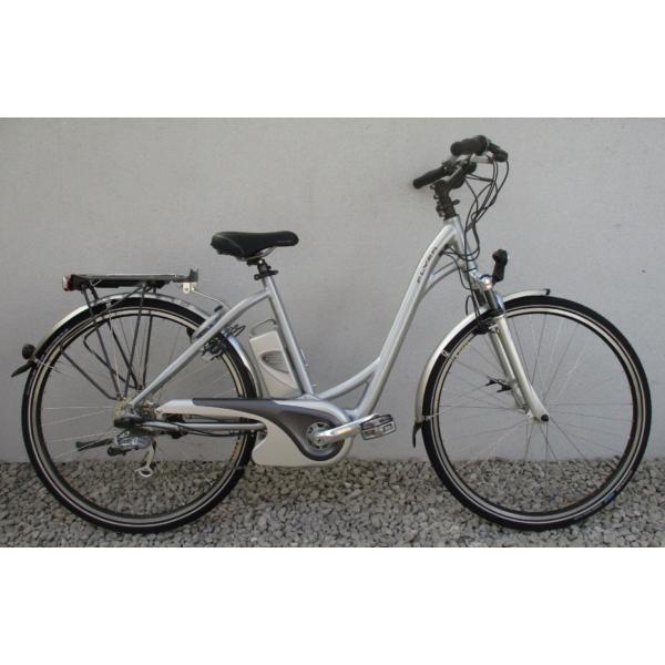 """Flyer E Serie 28"""" használt alu E-Bike kerékpár"""