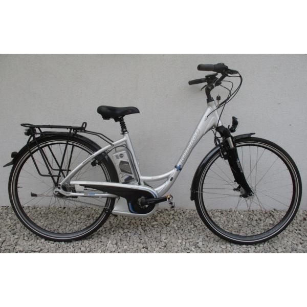 """Kalkhoff Agattu 8 28"""" használt alu E-bike kerékpár"""