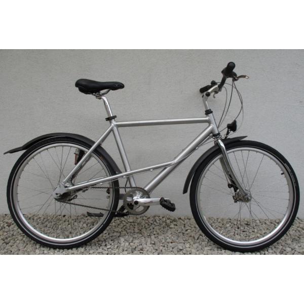 """Mercedes Benz City 7 26"""" használt alu városi kerékpár"""
