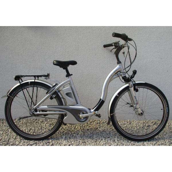"""Flyer T Serie 8 26"""" használt alu E-bike kerékpár"""