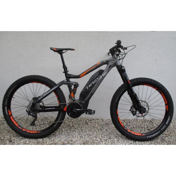 """Haibike Sduro All MTN 8.0 27,5"""" használt alu E-MTB kerékpár"""