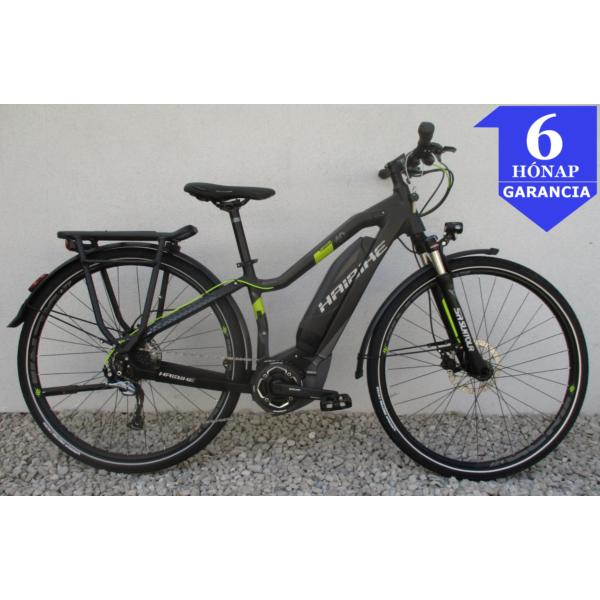 "Haibike Sduro Trekking 4.0 28"" használt alu E-Bike kerékpár"