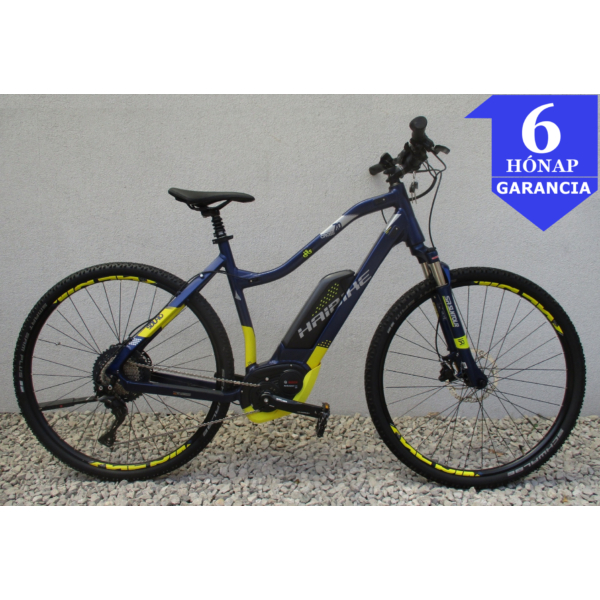 """Haibike Sduro Cross 7.0 (500Wh) 28"""" használt alu E-Bike kerékpár"""