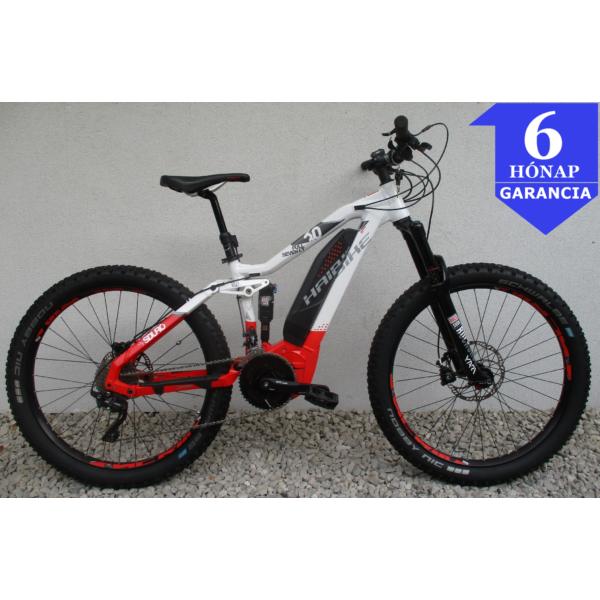 """Haibike Sduro Full Seven LT 6.0 (500Wh) 27,5"""" használt alu E-MTB kerékpár"""