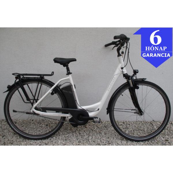 """Kalkhoff Agattu 7 White 28"""" Használt Alu E-Bike Kerékpár"""