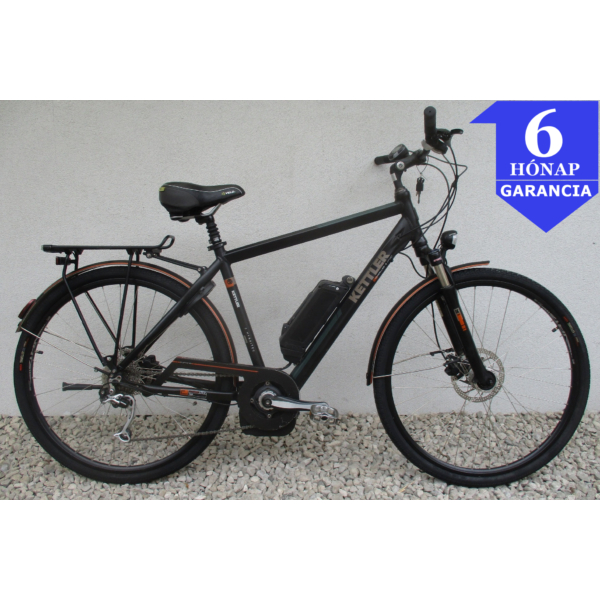 """Kettler Traveller Sport 28"""" használt alu E-Bike kerékpár"""